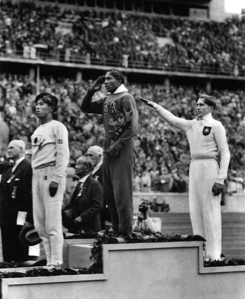 Olympische Spiele 1936: Jesse Owens und Lutz Long
